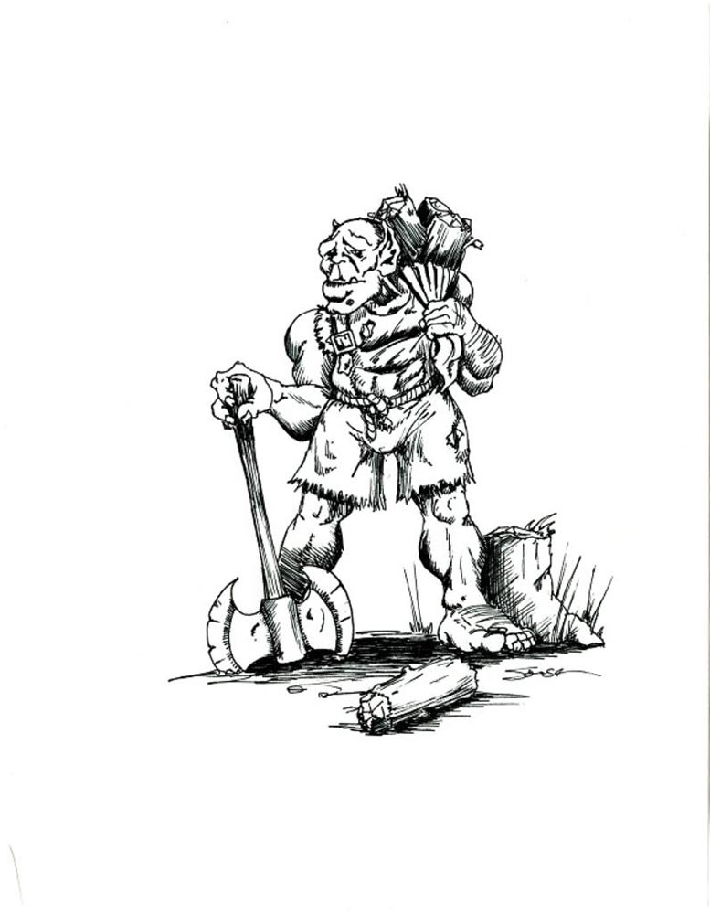 Artwork de Warcraft: Orcs and Humans